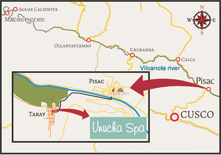 Map of Unucha spa